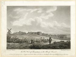 The West View of Broadstairs in the Isle of Thanet